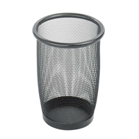 3 Quart Mesh Receptacle Trash can; Garbage can; Trash cans; Waste can; Waste basket; Wasbasket; Trash bins; Trash collection; Trash collection bins;  Mesh trash can; Mesh garbage can; Waste receptacle