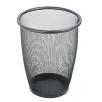 5 Gallon Mesh Receptacle Trash can; Garbage can; Trash cans; Waste can; Waste basket; Wasbasket; Trash bins; Trash collection; Trash collection bins;  Mesh trash can; Mesh garbage can; Waste receptacle