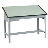 "3952-3962GR : safco 37.5"" x 60"" Precision Drafting Table"