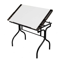 Folding Craft Station Drafting Furniture, Drafting Tables and Drawing Boards, Craft and Hobby Tables, drawing table