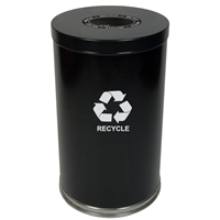 Metal Recycling Container - 33 Gallon