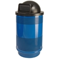 Stadium Series 55 Gallon Dome Top Waste Receptacle