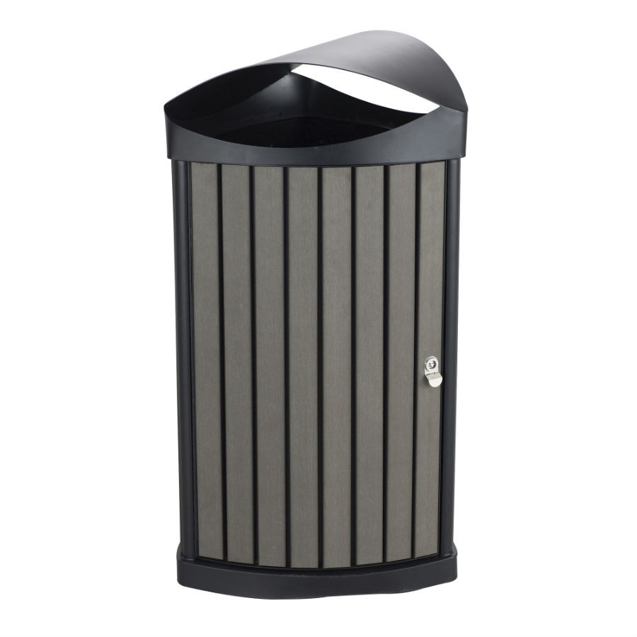 Nook Indoor/Outdoor Waste Receptacle, 20 Gallon